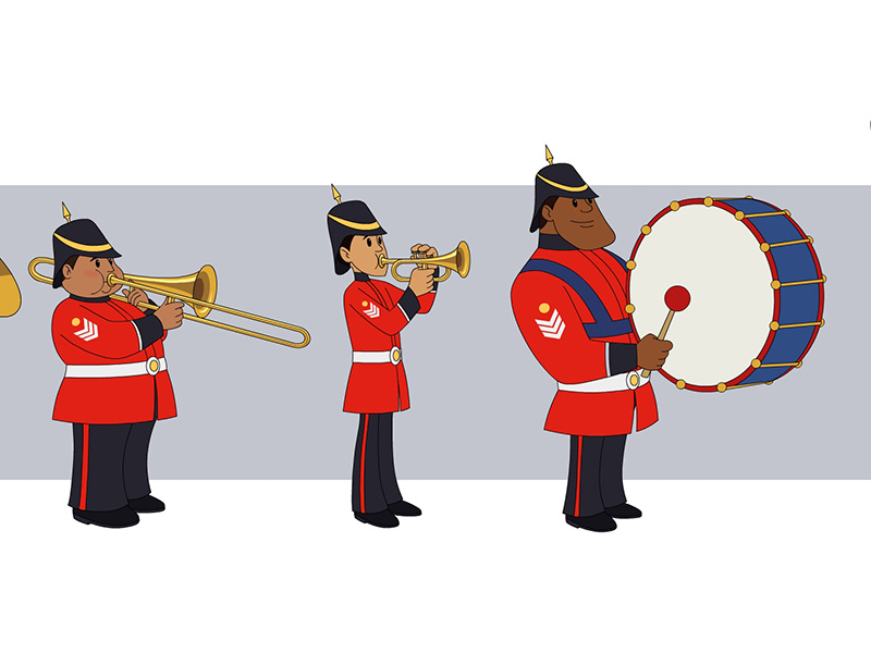 Marching band concept
